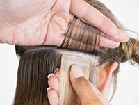 Przedłużanie doczepianie włosów