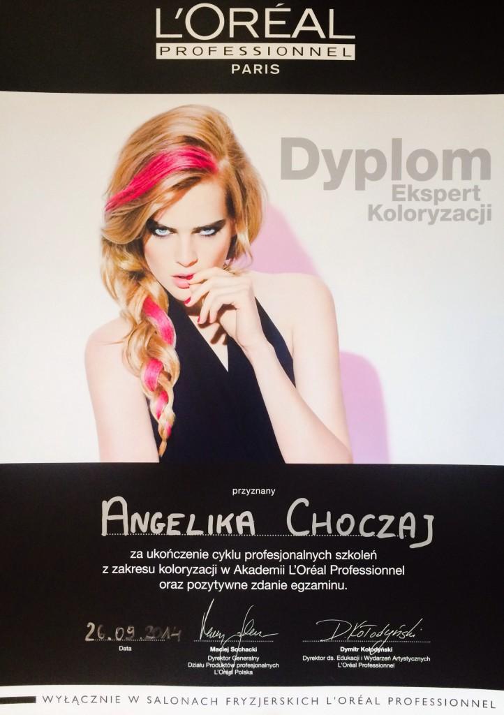 loreal_expert_dyplom_angelika_choczaj